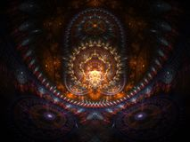 Optical Art Home of the Buddah 06 Royalty Free Stock Photo