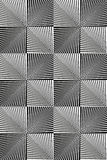 Optical Art. Op art, also known as optical art, is a style of visual art that makes use of optical illusions Royalty Free Stock Photo