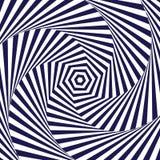 Optical art. Optical illusion background. Modern geometric background. Monochrome vector pattern. Optical art. Optical illusion background. Modern geometric Royalty Free Stock Photography