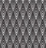 Optical art pattern seamless background black and white Stock Photo