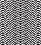 Optical art pattern seamless background black and white Royalty Free Stock Photography