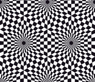 Optical Art Seamless. Op art, also known as optical art, is a style of visual art that makes use of optical illusions. Seamless Stock Images