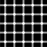 Optical art series: Grid Stock Image