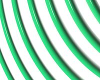 Optical Art Spiral Curves Triangle 03 stock illustration
