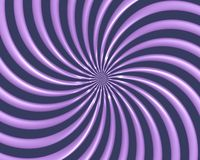 Optical Art Spiral Curves Triangle 06 Royalty Free Stock Photos