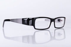 Optical black glasses Royalty Free Stock Images
