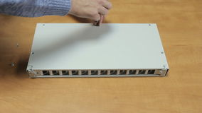 Optical box HD stock video footage