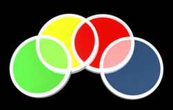 Optical color filters Royalty Free Stock Photography