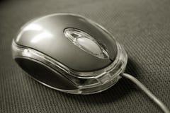 Optical computer mouse Stock Photo