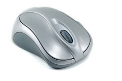 Optical computer mouse - isolated Royalty Free Stock Photo
