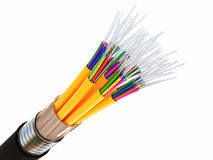Optical 3d fiber Royalty Free Stock Photography