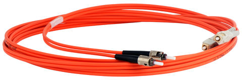 Optical data cable Stock Photos