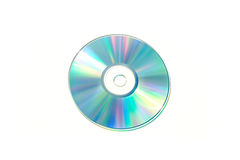 Optical Data. A optical Disc a bright and vivid color spectrum Stock Images