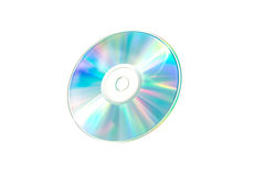 Optical Data. A optical Disc a bright and vivid color spectrum Stock Photo