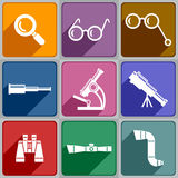 Optical devices Royalty Free Stock Image