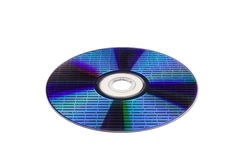 Optical disc with data Royalty Free Stock Photos