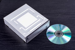 Optical disc drive Royalty Free Stock Images