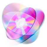 Optical disk stock illustration