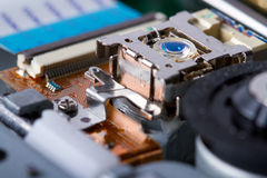 Optical drive circuitry Stock Images