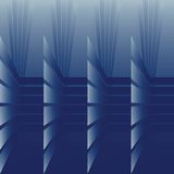 Optical effect in blue tones Royalty Free Stock Photos