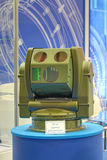 The Optical-electronic device. KUBINKA, MOSCOW OBLAST, RUSSIA - JUN 17, 2015: The Optical-electronic device for persistent surveillance in visible and infrared Stock Image