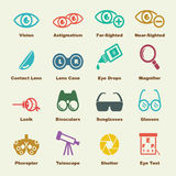 Optical elements Stock Images