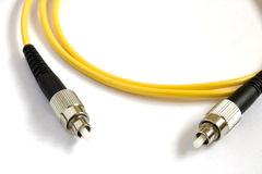 Optical fiber fc Stock Image