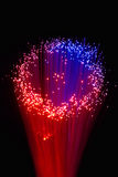 Optical fiber Stock Photo