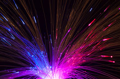 Optical fibers Stock Photography