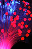 Optical fibers Royalty Free Stock Image
