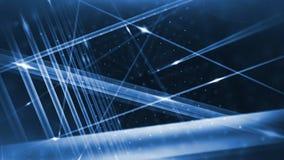 Optical fibers animation Royalty Free Stock Photo