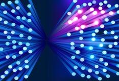 Optical fibers. Vector illustration. vector illustration
