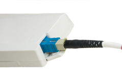 Optical Fibre Patch Cord Stock Photography