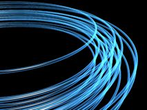 Optical fibres Royalty Free Stock Images