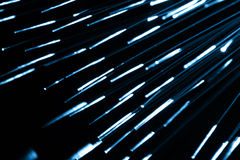 Optical fibres Royalty Free Stock Photography