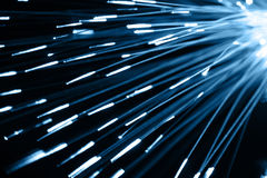 Optical fibres Stock Photography