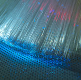 Optical fibres dinamic Royalty Free Stock Photography