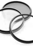 Optical filters on the digital camera royalty free stock photography