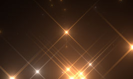 Optical flares Stock Images