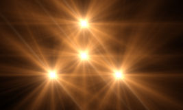 Optical flares Royalty Free Stock Images