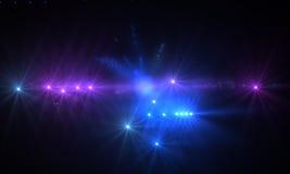 Optical flares Royalty Free Stock Image