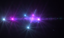 Optical flares Stock Photos
