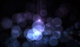 Optical flares Stock Photography