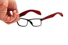 Optical glasses Stock Images