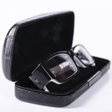 Optical glasses in a case Royalty Free Stock Images