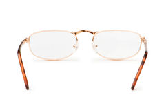 Optical glasses isolated Stock Images