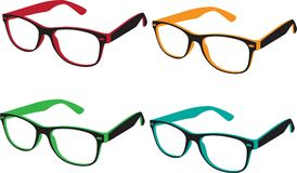 Optical glasses model Stock Photo