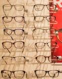 Optical glasses store Stock Image