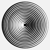 Optical illusion vector illustration