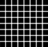 Optical illusion. Illustration of optical illusion with white dots:black or white dots Stock Photo
